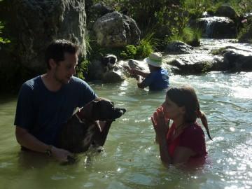 Barranquismo canino